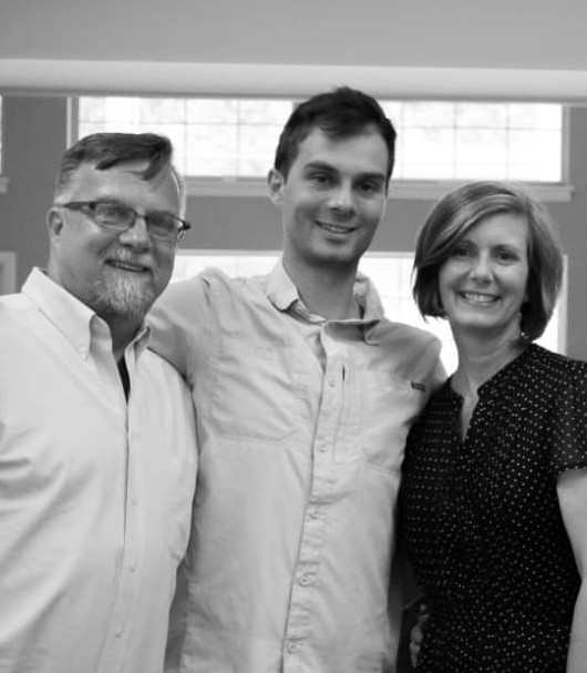 Doctor skylar Palmer and his father Shane and Mother Janice